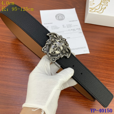 Versace AAA+ Leather reversible Belts 4cm #9129440