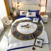 Bedding sets duvet cover 200*230cm duvet insert and flat sheet 245*250cm  throw pillow 48*74cm #99901029