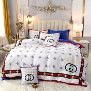 Bedding sets duvet cover 200*230cm duvet insert and flat sheet 245*250cm  throw pillow 48*74cm #99901032