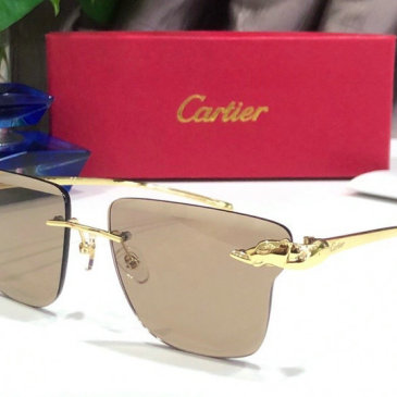 Cartier AAA+ Sunglasses #9875152