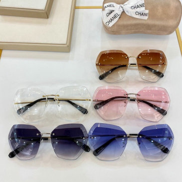 Chanel AAA+ sunglasses #9874994