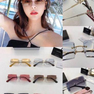 Chanel AAA+ sunglasses #99874378