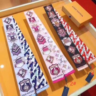 Brand L small Scarf wristlet #99903559