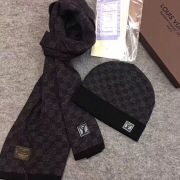 Louis Vuitton Wool knitted Scarf and cap 185*35cm #9108729