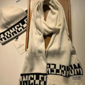 Moncler Wool knitted Scarf and cap #999909577