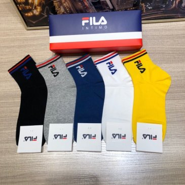 Brand FILA socks (5 pairs) with box  #99874471