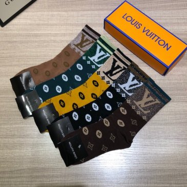 Brand L socks (5 pairs) with box #99874470