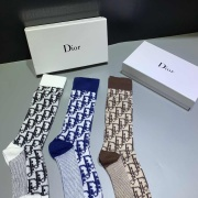 Dior socks (3 pairs) with gift box #99116246