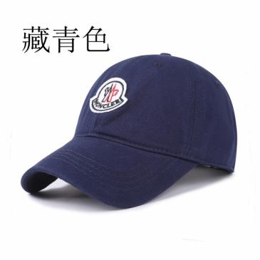 Moncler navy Hat #99900416