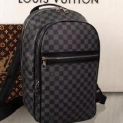 Louis Vuitton AAA+ black Backpack #9106345