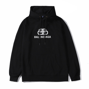 Balenciaga black Hoodies for Men #9873455
