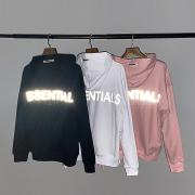 FOG Essentials 3M reflective hoodies black white blue gray #99899013