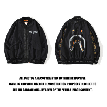 Bape Hunting war color combat camouflage flying jacket for men #99117526