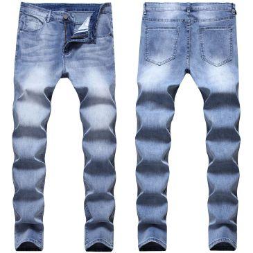 2020 BALMAIN jeans stretchy jeans Men's Long Jeans #99116703