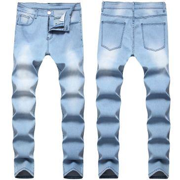 2020 BALMAIN jeans stretchy jeans Men's Long Jeans #99116704