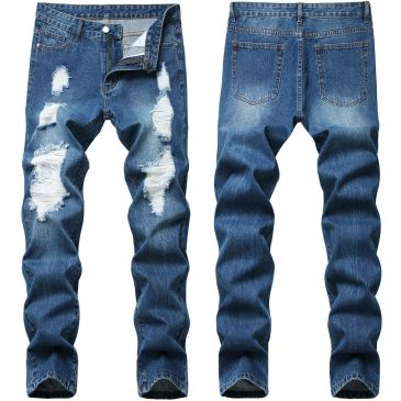Ripped jeans for Men's Long Jeans #99117344