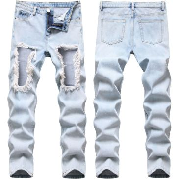 Ripped jeans for Men's Long Jeans #99117346