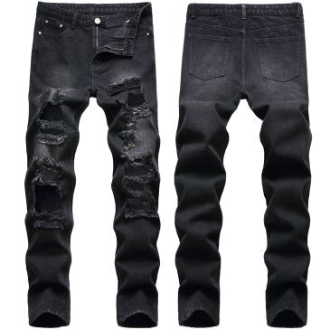 ripped jeans for Men's Long Jeans #99117339