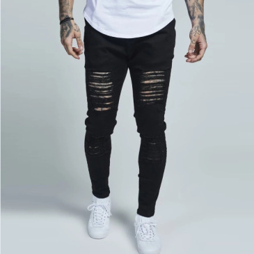 ripped jeans for Men's Long Jeans #99117341