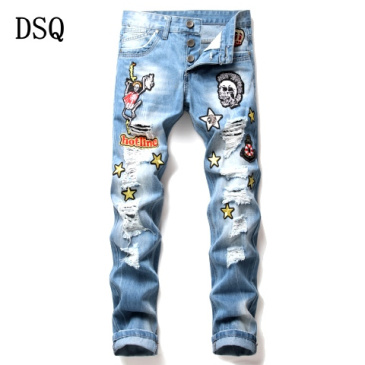 Dsquared2 Jeans for Dsquared2 short Jeans for MEN #9874412