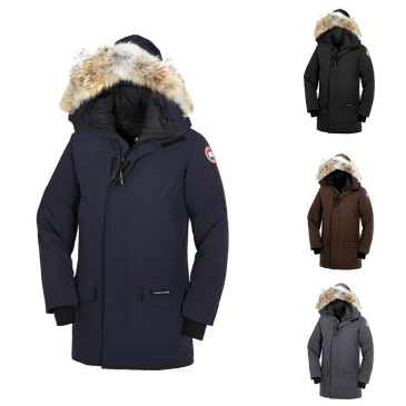 2018 Canada man Goose Man Langford Parka New Arrival Sale Men Guse Chateau Black Navy Gray Down Jacket Winter Coat/Parka Sale #9115196