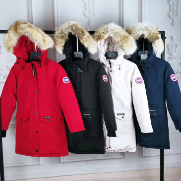 Canada Goose Long Down Coats #9129158