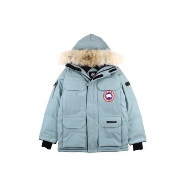 Canada goose jacket for Women 19fw expedition wolf hairs 80% white duck down 1:1 quality Canada goose down coat #99899244