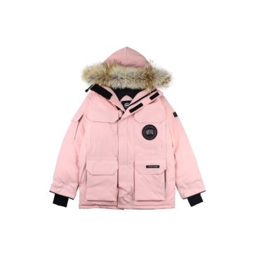 Canada goose jacket 19fw expedition wolf hairs 80% white duck down 1:1 quality Canada goose down coat  for Men and Women #99899249