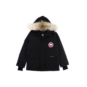 Canada goose jacket 19fw expedition wolf hairs 80% white duck down 1:1 quality Canada goose down coat  for Men and Women #99899250
