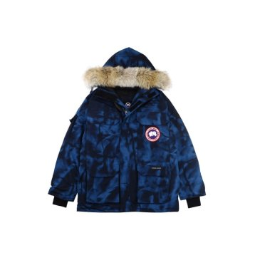 Canada goose jacket 19fw expedition wolf hairs 80% white duck down 1:1 quality Canada goose down coat  for Men and Women #99899252