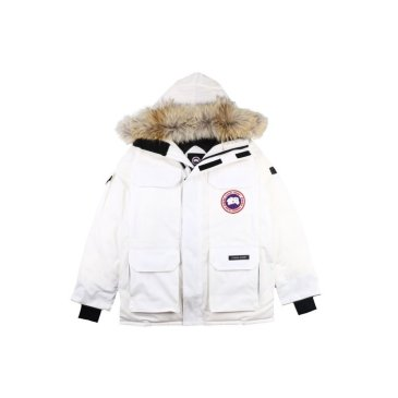 Canada goose jacket 19fw expedition wolf hairs 80% white duck down 1:1 quality Canada goose down coat for Men and Women #99899253