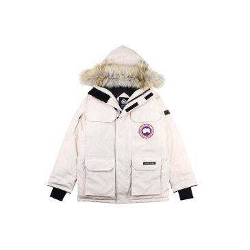 Canada goose jacket 19fw expedition wolf hairs 80% white duck down 1:1 quality Canada goose down coat for Men and Women #99899256