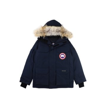 Canada goose jacket 19fw expedition wolf hairs 80% white duck down 1:1 quality Canada goose down coat for Men and Women #99899257