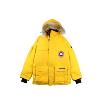 Canada goose jacket 19fw expedition wolf hairs 80% white duck down 1:1 quality Canada goose down coat for Men and Women #99899258
