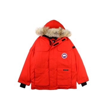 Canada goose jacket 19fw expedition wolf hairs 80% white duck down 1:1 quality Canada goose down coat for Men and Women #99899259