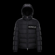 Moncler black down Coats #9115968