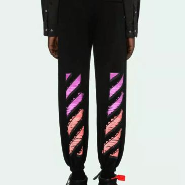 OFF WHITE OW religious oil painting printed trousers and panties #99902332