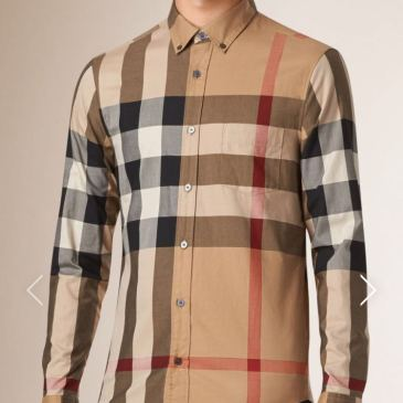 Burberry AAA+ Long-Sleeved Shirts for men #817280