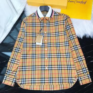 Burberry Shirts for Burberry Men's AAA+ Burberry Long-Sleeved Shirts #9123006