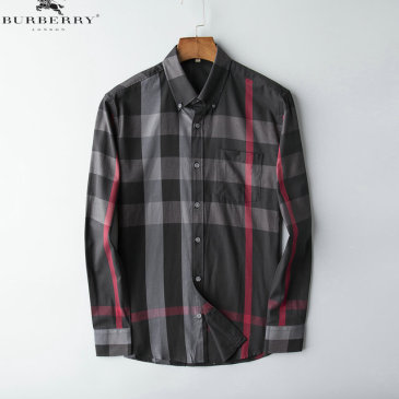 Burberry Shirts for Men's Burberry Long-Sleeved Shirts #9125016