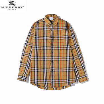 Burberry Shirts for Men's Burberry Long-Sleeved Shirts #9873473
