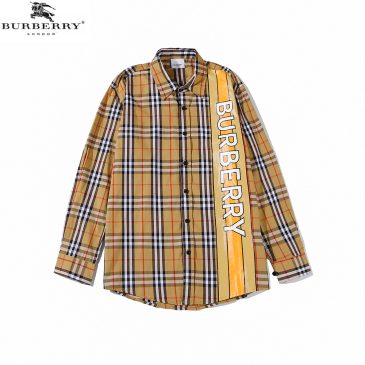 Burberry Shirts for Men's Burberry Long-Sleeved Shirts #9873474