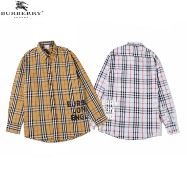 Burberry Shirts for Men's Burberry Long-Sleeved Shirts #9873475