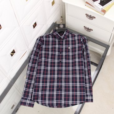 Burberry Shirts for Men's Burberry Long-Sleeved Shirts #99902400