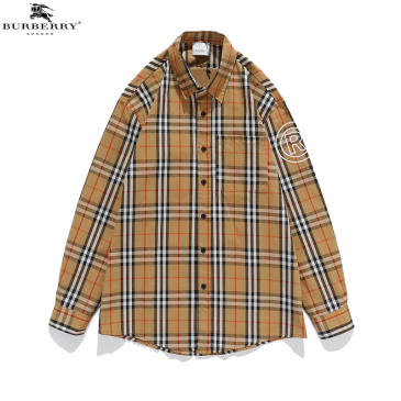 Burberry Shirts for men and women Burberry Long-Sleeved Shirts #99874430