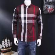 Men's Burberry Long-Sleeved Shirts #807188