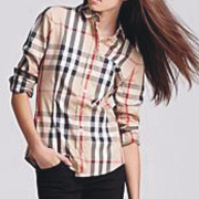 Burberry Shirts for Women's's Burberry Long-Sleeved Shirts #9104541