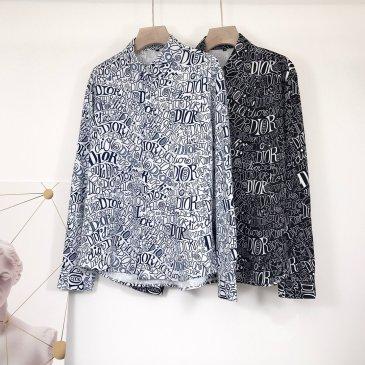 Cheap Dior Long-Sleeved Shirts for men #99116272