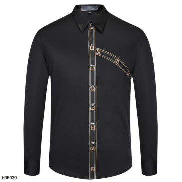 Fendi Shirts for Fendi Long-Sleeved Shirts for men #9874203