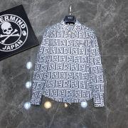 Fendi Shirts for Fendi Long-Sleeved Shirts for men #99904965